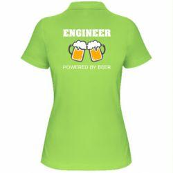 Жіноча футболка поло Engineer Powered By Beer