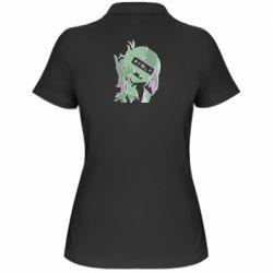 Жіноча футболка поло Himiko Toga glitch