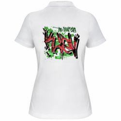 Женская футболка поло Kiev graffiti