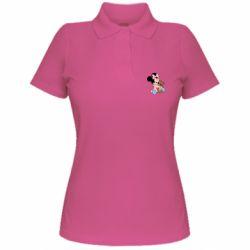 Жіноча футболка поло Minnie And Bear