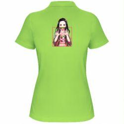 Жіноча футболка поло Nezuko