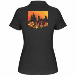 Жіноча футболка поло Night-Day Kiev