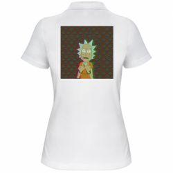Женская футболка поло Rick Fck Hologram