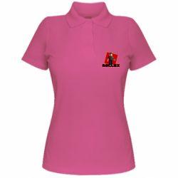 Женская футболка поло Roblox Builderman