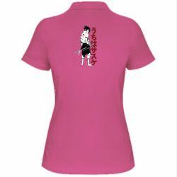 Жіноча футболка поло Sasuke Art