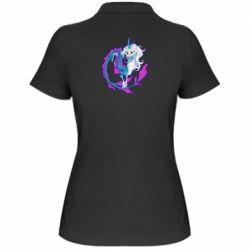 Жіноча футболка поло Sisu Dragon Art