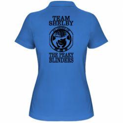 Жіноча футболка поло Team Shelby the Peaky Blinders