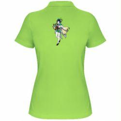 Жіноча футболка поло Venti Genshin Impact