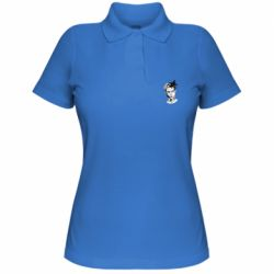 Женская футболка поло XXXTentacion Monochrome Art