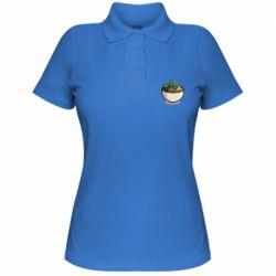 Жіноча футболка поло Йода