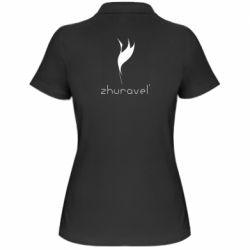 Жіноча футболка поло Zhuravel