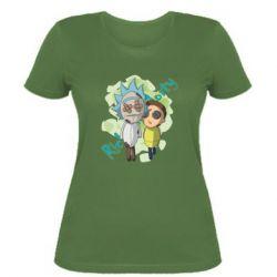 Жіноча футболка Rick and Morty voodoo doll