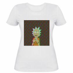 Женская футболка Rick Fck Hologram