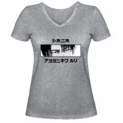 Жіноча футболка з V-подібним вирізом Levi's Eyes
