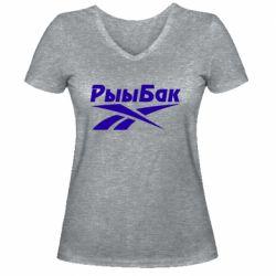 Жіноча футболка з V-подібним вирізом Reebok РыыБак