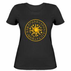 Жіноча футболка Sun in runes