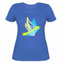 Жіноча футболка Україна Ластівка