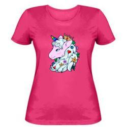 Жіноча футболка Unicorn Princess