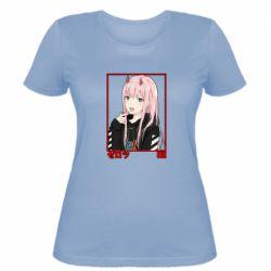 Жіноча футболка Zero Two Modern Style