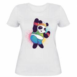 Жіноча футболка Zumba Panda