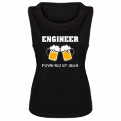 Майка жіноча Engineer Powered By Beer