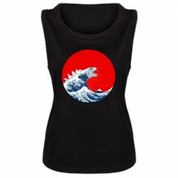 Майка жіноча Godzilla Wave