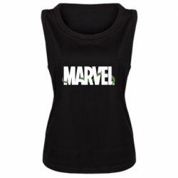 Женская майка Marvel logo and vine