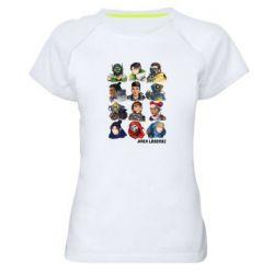 Жіноча спортивна футболка Apex legends heroes
