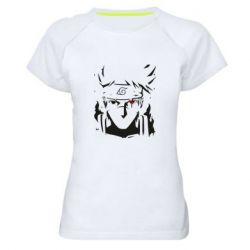 Жіноча спортивна футболка Art Kakashi
