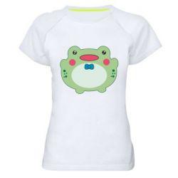 Жіноча спортивна футболка Baby frog