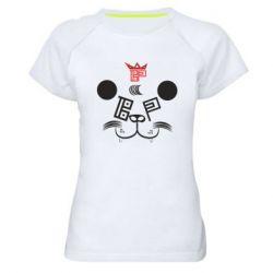 Женская спортивная футболка BEAR PANDA BP VERSION 2