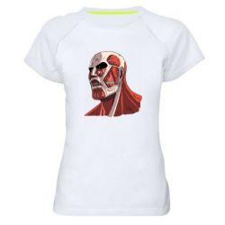 Жіноча спортивна футболка Colossus