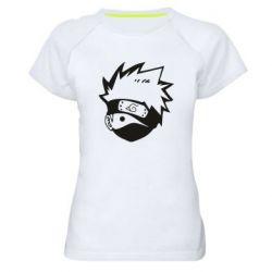 Жіноча спортивна футболка Cute face Kakashi