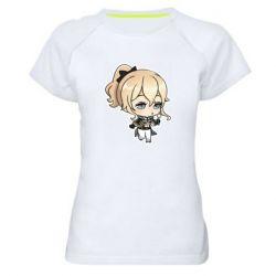 Жіноча спортивна футболка Genshin Impact chibi Jean