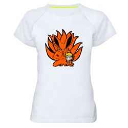 Жіноча спортивна футболка Kurama And Naruto