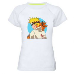 Жіноча спортивна футболка Naruto Uzumaki Hokage