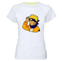 Женская спортивная футболка Narutooo