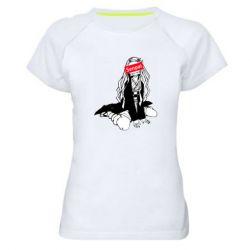 Жіноча спортивна футболка Недзуко - сенпай