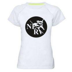 Жіноча спортивна футболка Nerv