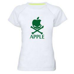 Женская спортивная футболка Pirate Apple