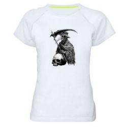 Жіноча спортивна футболка Plague Doctor graphic arts