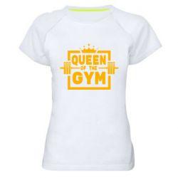 Жіноча спортивна футболка Queen Of The Gym