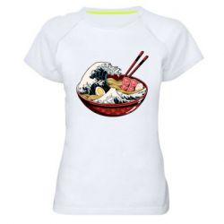 Жіноча спортивна футболка Remen Wave