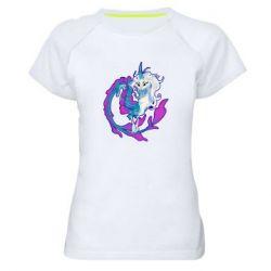 Жіноча спортивна футболка Sisu Dragon Art