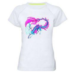 Жіноча спортивна футболка Sisu Water Dragon