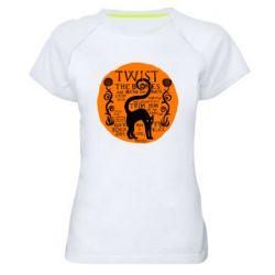 Женская спортивная футболка TWIST