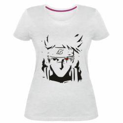Жіноча стрейчева футболка Art Kakashi