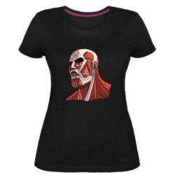 Жіноча стрейчева футболка Colossus