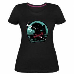 Женская стрейчевая футболка Cowboy bebop