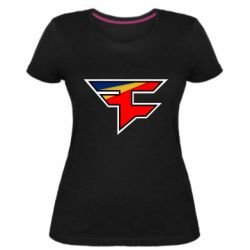 Жіноча стрейчева футболка FaZe Clan